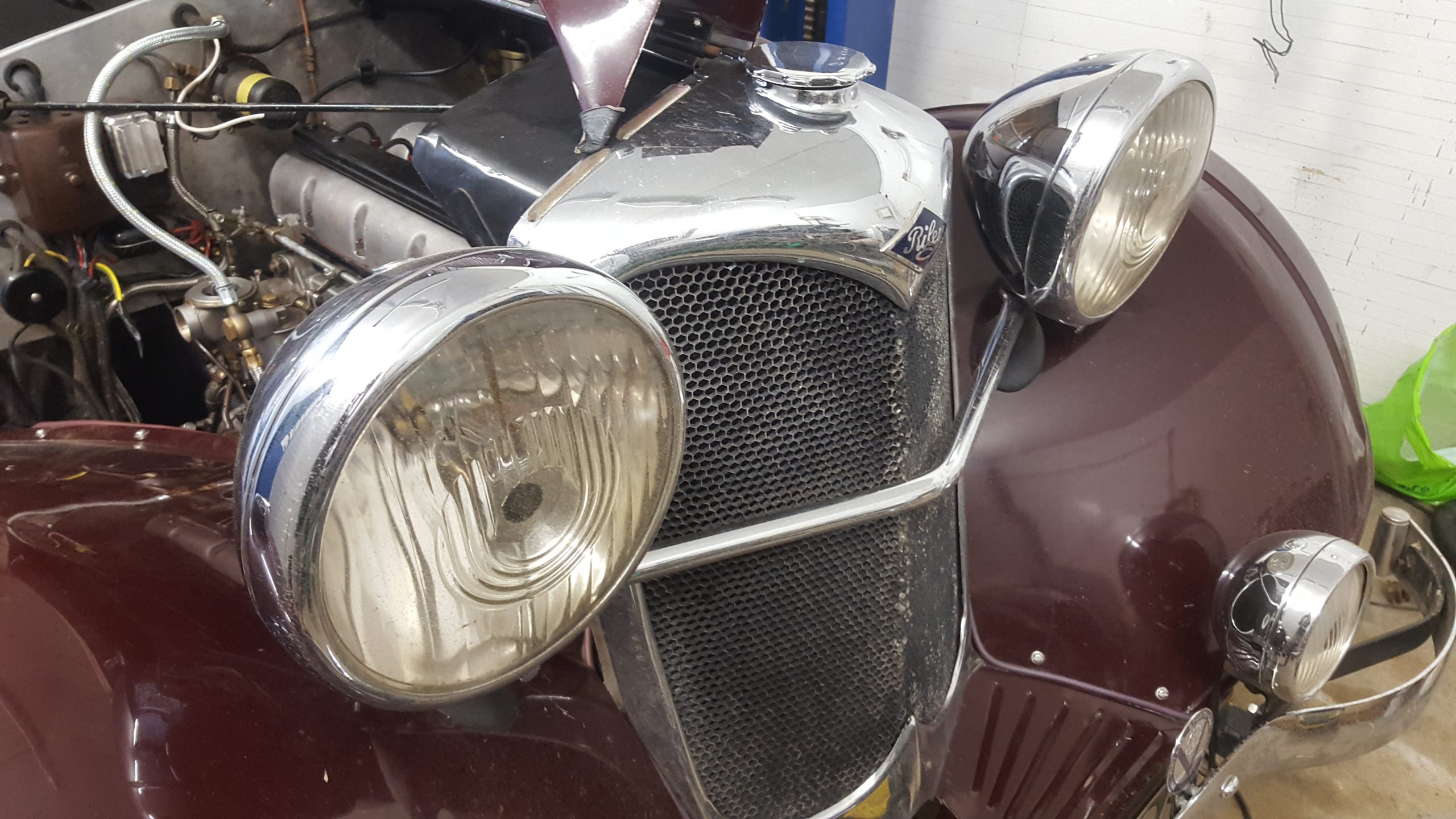 vintage wireman-riley-vintage car- riley lynx