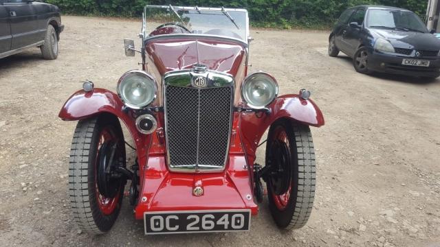 vintage wireman-vintage car- mg-mg magna-vintage mg