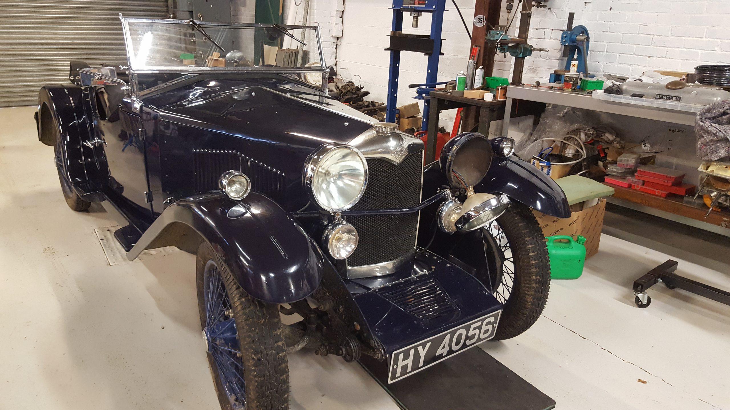 vintage wireman-riley-vintage car- riley gamecock